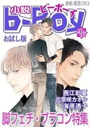 <お試し版>小説b-Boy 脚フェチ・ブラコン特集(2012年9月号)